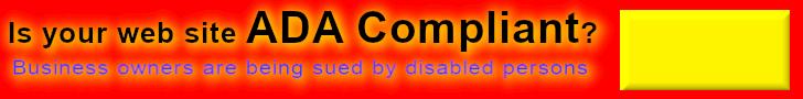 make your web site ada compliant